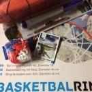 Basketbalring incl. bal, pomp en netje
