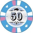 Pokerchip Clay value 50