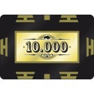 Pokerchip High Value 10.000 Goud