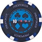 Pokerchip Pro-Poker Clay value 10