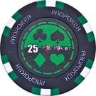Pokerchip Pro-Poker Clay value 25