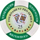 Pokerchip Texas Holdem Value 25