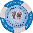 Pokerchip Texas Holdem Value 50