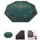 Poker Top opklapbaar Octangle