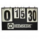 Telblok tafeltenniswedstrijden Heemkerk