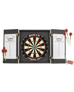 Bulls dartbord cabinet pro set
