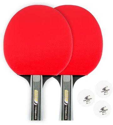 Tafeltennisbatjes en pingpongballetjes van Cornilleau