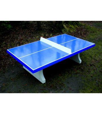 Betonnen tafeltennistafel Blauw HeBlad