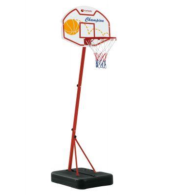 Basketbalpaal Phoenix met bal en koffer