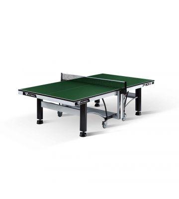 Tafeltennistafel Cornilleau Competitie 740 ITTF indoor groen